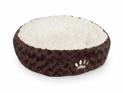 Nobby Neiku hnědý pelíšek donut 45cm