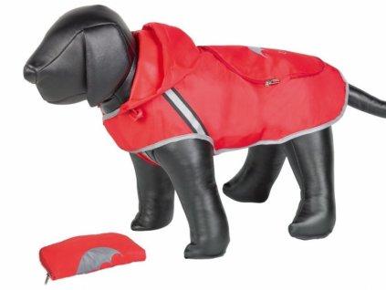 Nobby Rainy červená reflexní pláštěnka pro psa 32cm