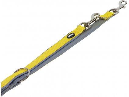 Nobby CLASSIC PRENO vodítko neoprén XS/S 200cm žlutá