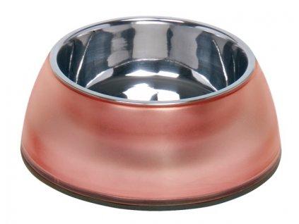 Nobby Diva Clear miska v červeném pouzdře 800ml