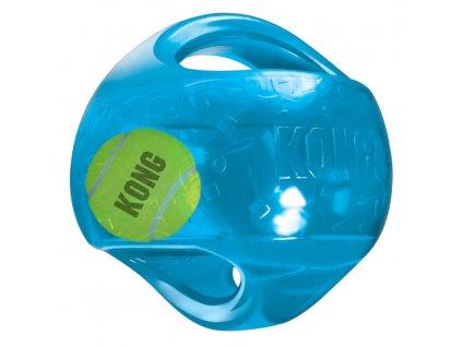 Kong Jumbler hračka pro psy gumový míč M/L 14cm