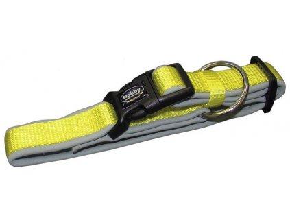 Nobby CLASSIC PRENO obojek neoprén žlutá M/L40-55cm
