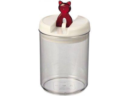 Nobby Flip Cat akrylová dóza na pamlsky kočka 1,4 l