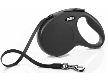 Flexi NEW CLASSIC M pásek 5m/25kg černá