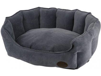 Nobby BOTELI pelíšek oválný šedý 86x70x24cm