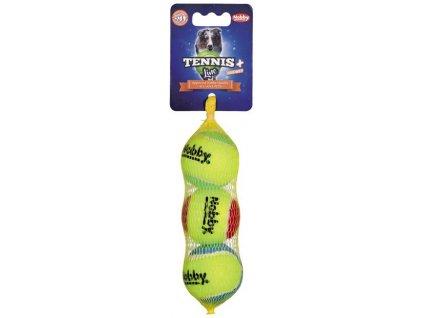 Nobby Tennis Line hračka tenisový míček barevný S 5cm 3ks
