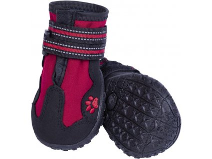 Nobby RUNNERS ochranné boty pro psy XL 2ks červená