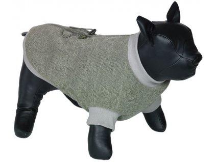 Nobby MINIK obleček pro buldočka zelená S 34cm