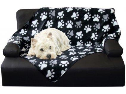 Nobby Classic PIPPA flísová deka černá 70x100cm