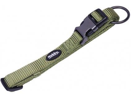 Nobby CLASSIC COMFORT obojek nylon zelený M-L 50-65cm