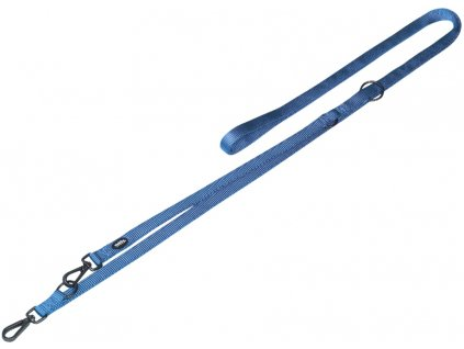 Nobby CLASSIC COMFORT vodítko nylon světle modrá M-L 3m 25mm