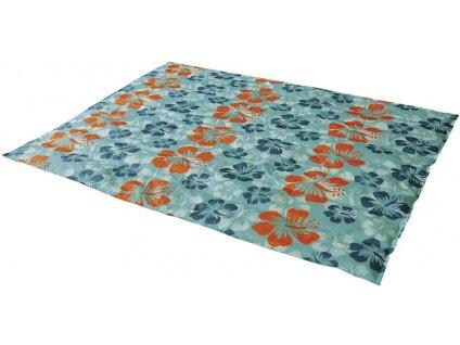 Nobby chladící podložka Flower XL pro zvířata 105x90cm