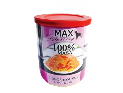 679 2 max deluxe dog losos kousky 800g