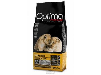8536 optimanova cat kitten 8kg