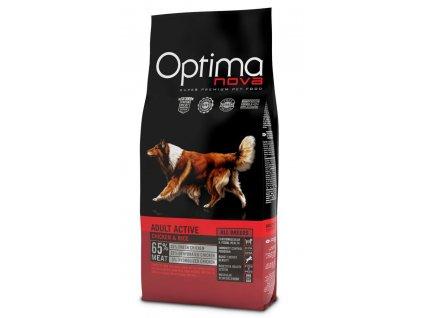 4138 optimanova dog adult active 12kg