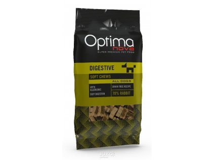 5740 optimanova functional snack digestive rabbit 150g