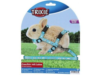 2203 trixie postroj pro kraliky motiv baby bunny 20 33 cm 8 mm