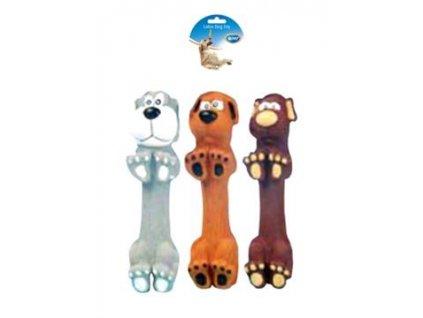 Hračka latex Pes panáčkující DUVO+ 13 cm