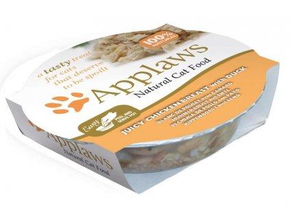 Applaws Cat miska kuřecí prsa a kachna 60 g