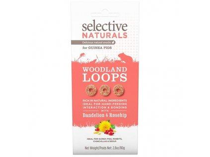 Supreme Selective Naturals snack Woodland Loops 80 g
