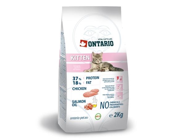 Ontario Kitten Chicken kočka: 2 kg
