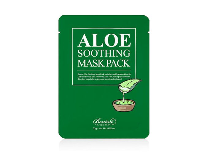 Aloe Soothing Mask Pack 8809566990303