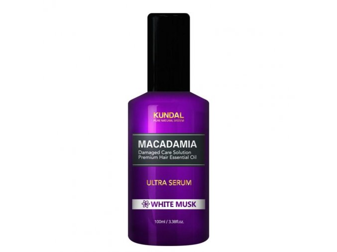 kundal honey macadamia white musk hair serum 100ml