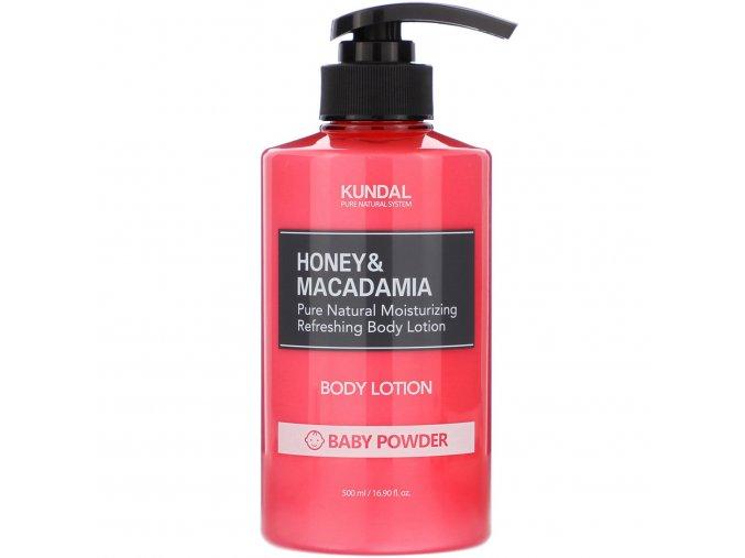 Kundal Honey&Macadamia Body Lotion Baby Powder