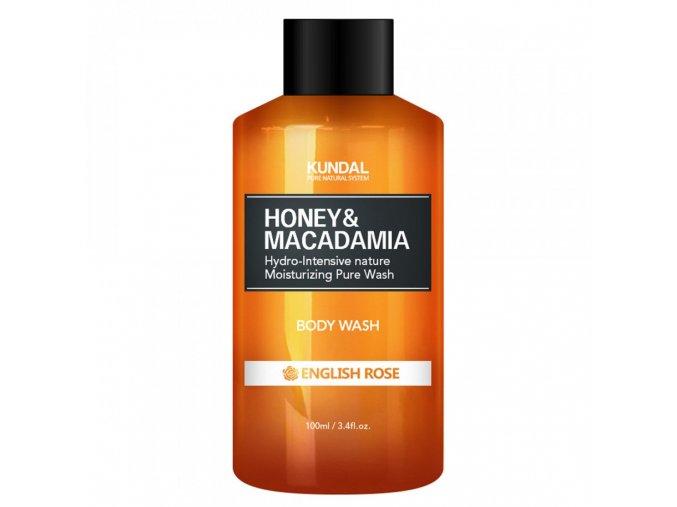 Kundal Honey&Macadamia Body Wash English Rose