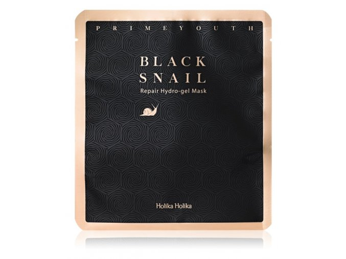holika holika prime youth black snail intenzivni hydrogelova maska