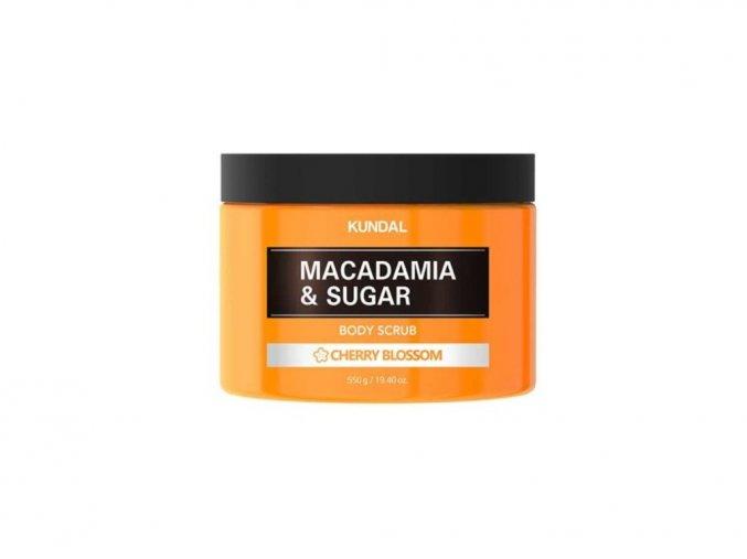 Kundal Macadamia&Sugar Body Scrub Cherry Blossom