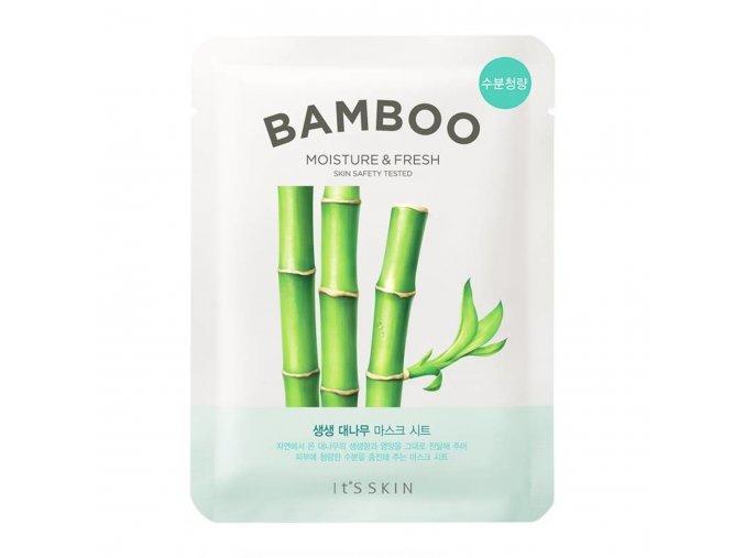 its skin the fresh mask sheet bamboo 10 pcs