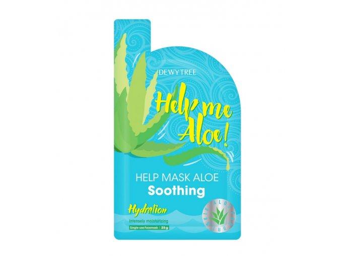 dewytree mascarilla calmante e hidratante help me aloe 1 46777