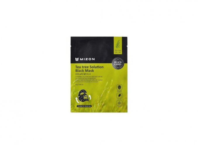 Mizon Tea Tree solution black mask 25 g