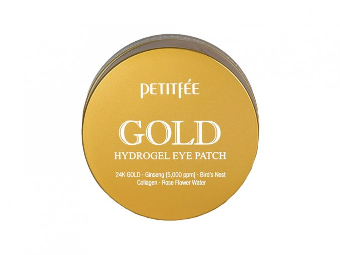 Gold Hydrogel eye patch 1