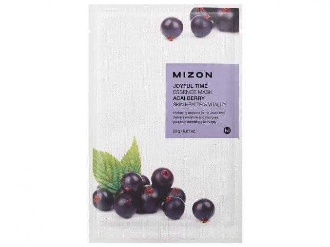 Mizon Joyful Time Essence Mask Acai Berry 23g
