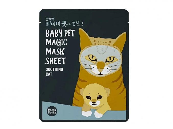 Holika Holika Baby Pet Magic Mask Sheet Soothing Cat 22 ml