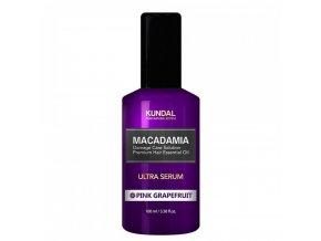 kundal honey macadamia pink grapefruit hair serum 100ml 2