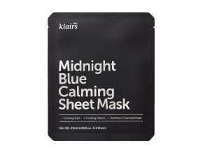 Midnight Blue Calming Sheet Mask front