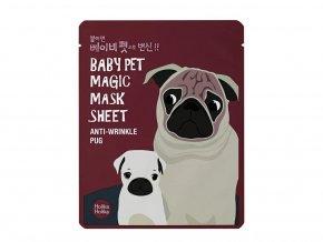 Holika Holika Baby Pet Magic Mask Sheet Anti-wrinkle Pug 22 ml