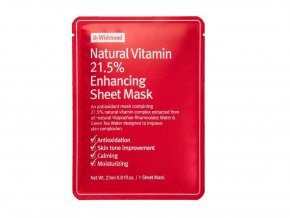 Natural Vitamin 21.5% Enhancing Sheet Mask 23ml