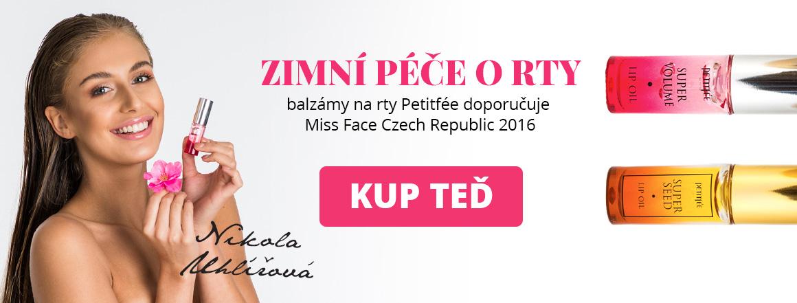 Péče o rty Petitfée - doporučuje Miss Face Czech Republic 2016