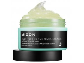 Mizon enjoy fresh on time revital lime mask