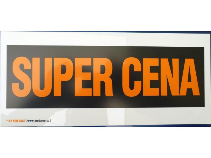 "CEDULE ""SUPER CENA"" a jiné"