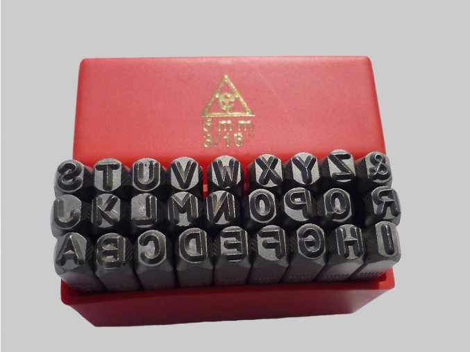 25 rucni razidla ostre abeceda