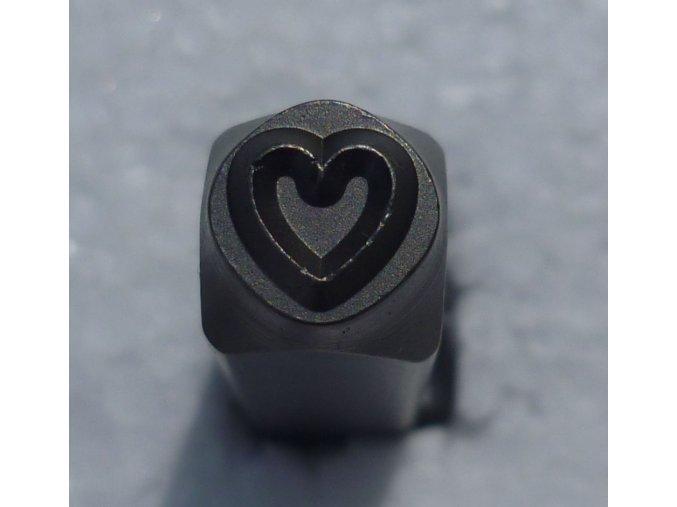 Ruční razník - srdce