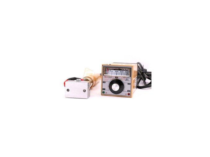 Ruční razidlo na kůži a dřevo s termostatem