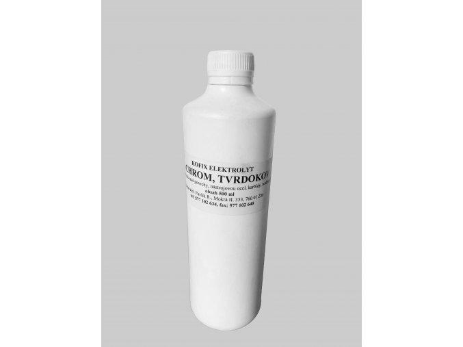 Elektrolyt pro chrom, tvrdokov, nerez