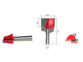 Karbidová fréza pro 3D modelování