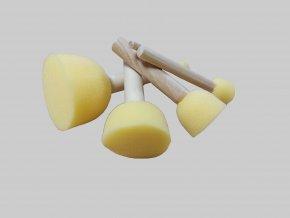 Kulaté pěnové houbičky